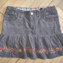 Manšestrova sukne, velikost 116, cp 2560